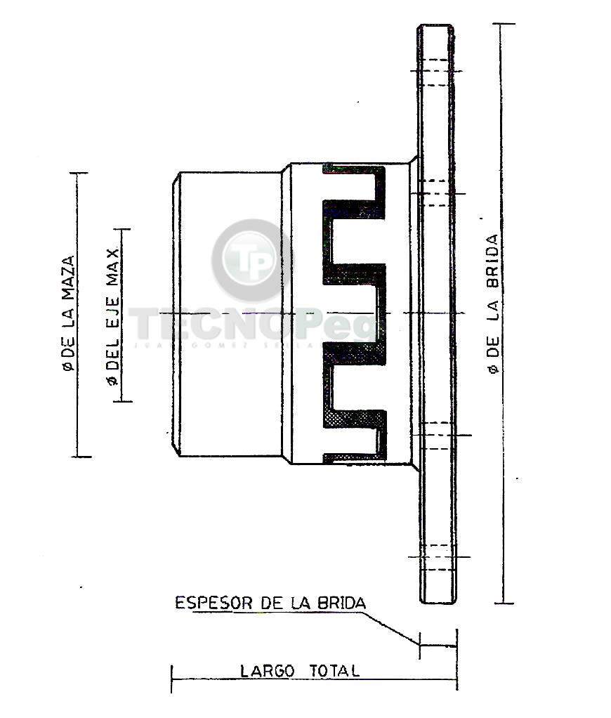 Acople Serie T Modelo Universal